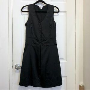 Richard Chai for Target tuxedo style satin dress
